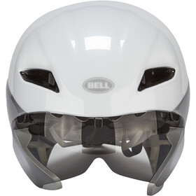 Bell Javelin Aero Casque, white/silver